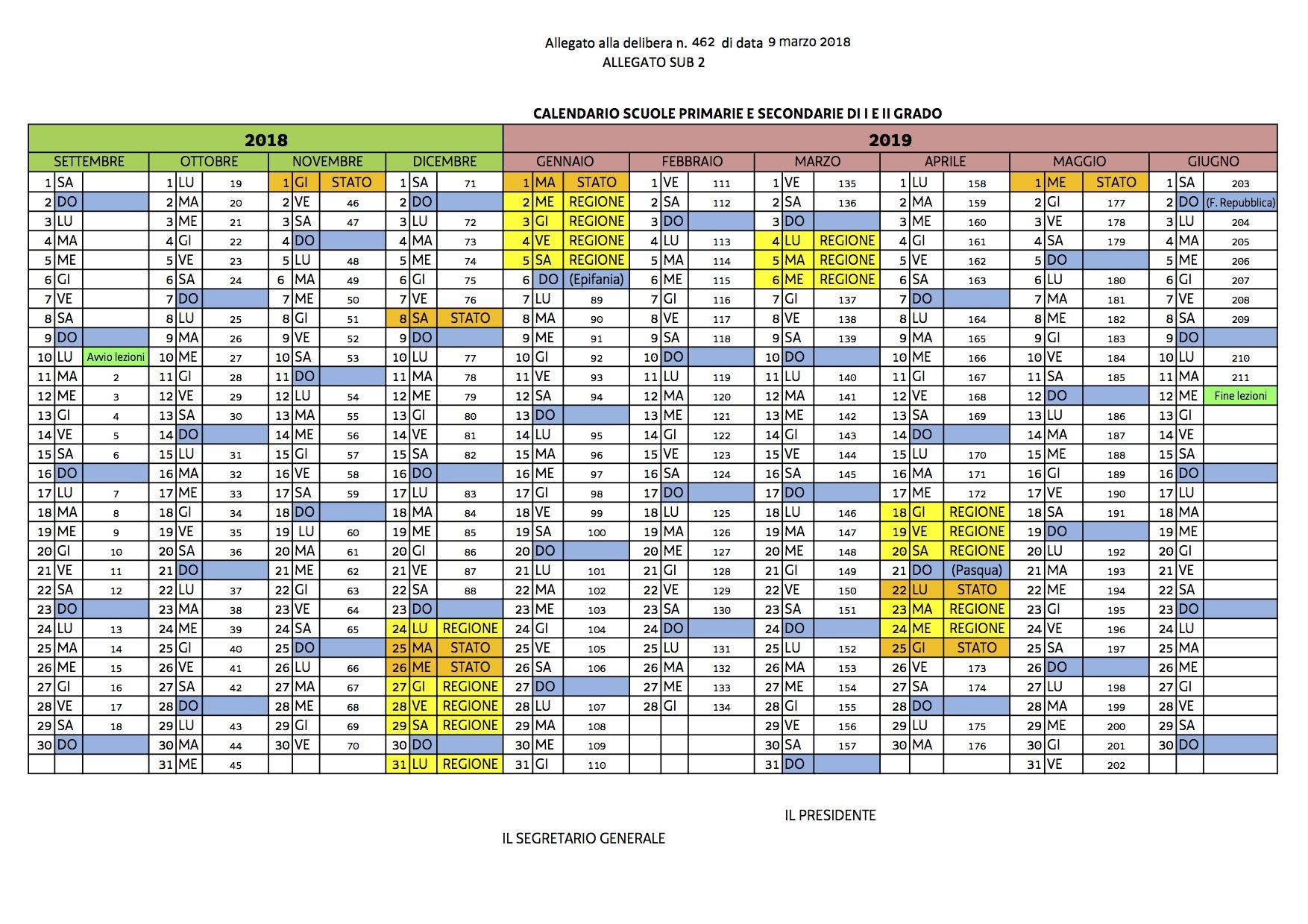 Calendario Scolastico 2020 E 2020.Calendario Scolastico Scuola S Angela Merici